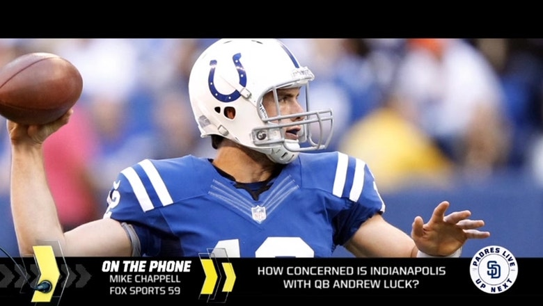 Should Colts fans be concerned about Andrew Luck's health going forward?
