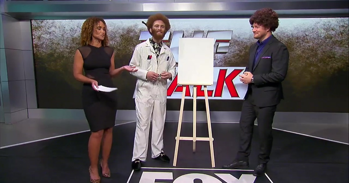 Luis 'Violent Bob Ross' Pena gets artsy | TUF Talk | FOX Sports