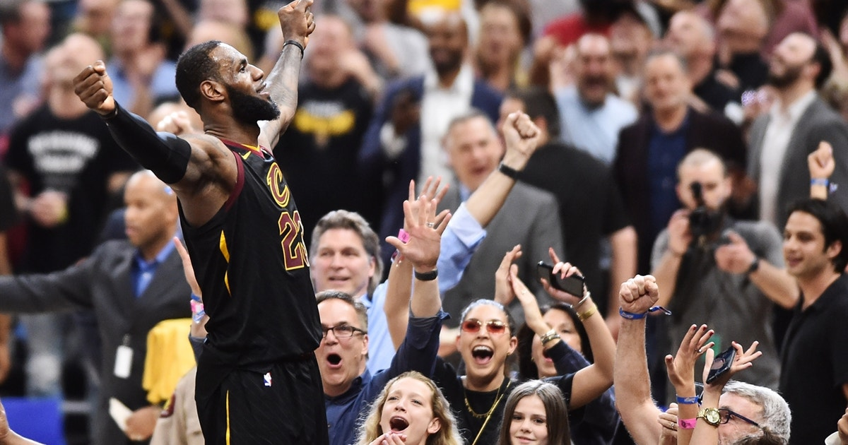 7f30f4f4a673 Cris Carter reacts to LeBron James  buzzer-beater to down Raptors in Game 3