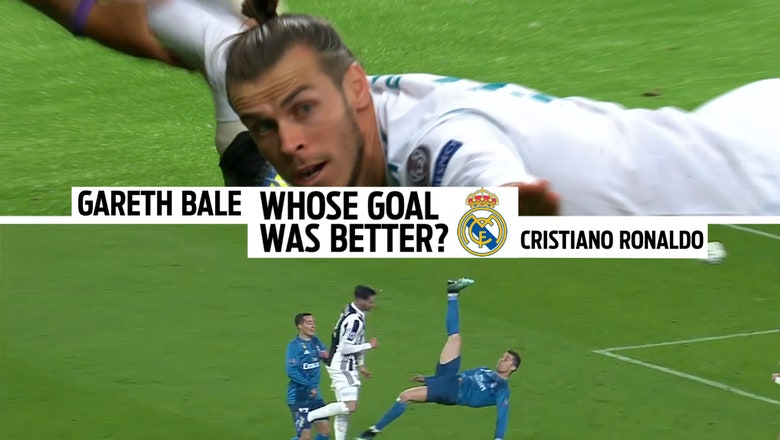 Which absurd bicycle kick goal was better: Cristiano Ronaldo or Gareth Bale? Watch them side-by-side