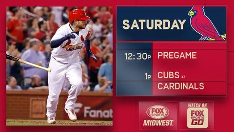 Chicago Cubs vs. St. Louis Cardinals, 5-6