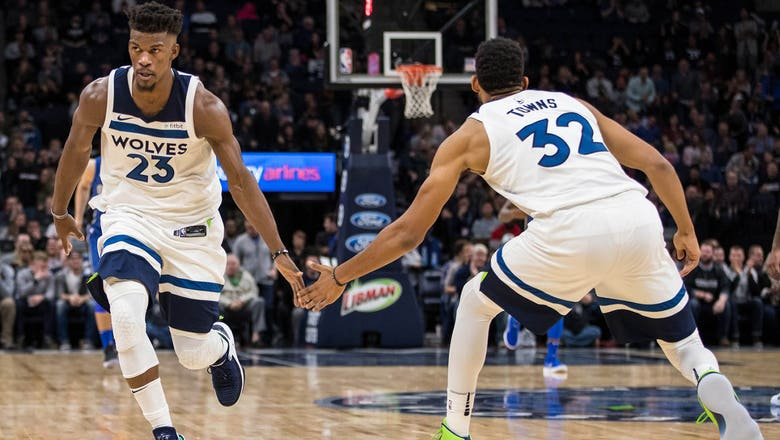 Timberwolves' Towns, Butler named to All-NBA third team
