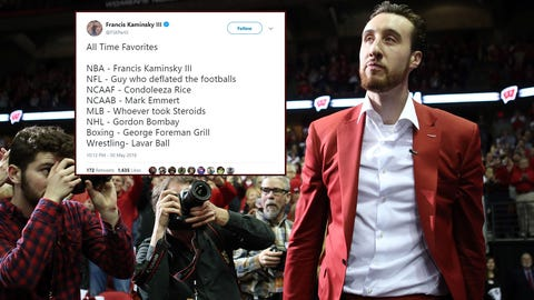 Frank Kaminsky, former Badgers forward