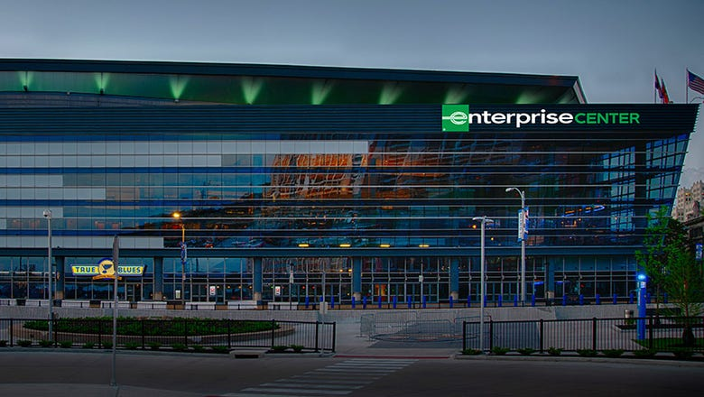 A new name for the home of the Blues: Enterprise Center
