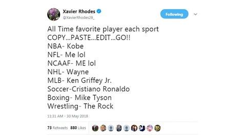 Xavier Rhodes, Vikings cornerback