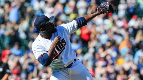Fernando Rodney, Twins closer (↑ UP)