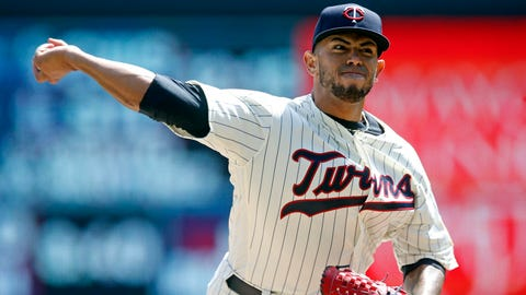 Fernando Romero, Twins pitcher (↓ DOWN)