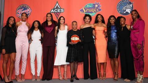 AROUND THE WNBA