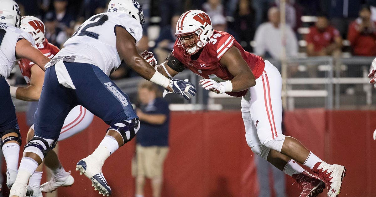 709b2160c29 With NFL calling, Badgers alum Chikwe Obasih puts health first