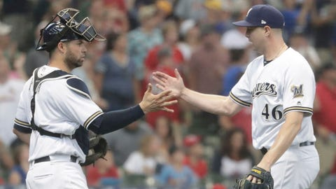 Brewers 3, Cardinals 2