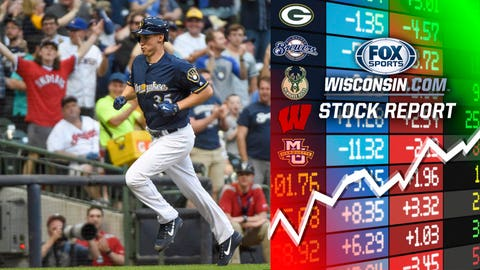 Brent Suter, Brewers pitcher (↑ UP)