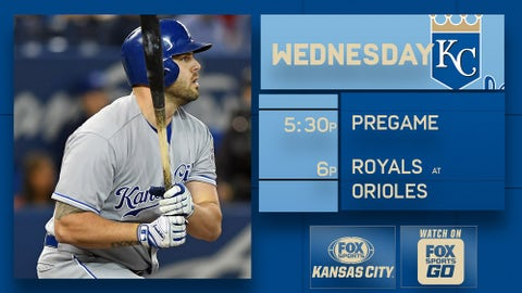 Power-happy Royals try to keep Orioles down