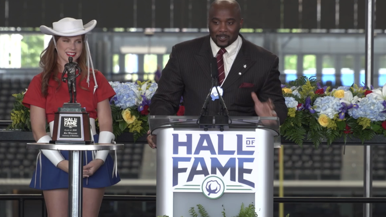 Sooners' Roy 'Superman' Williams inducted into Cotton Bowl Hall of Fame