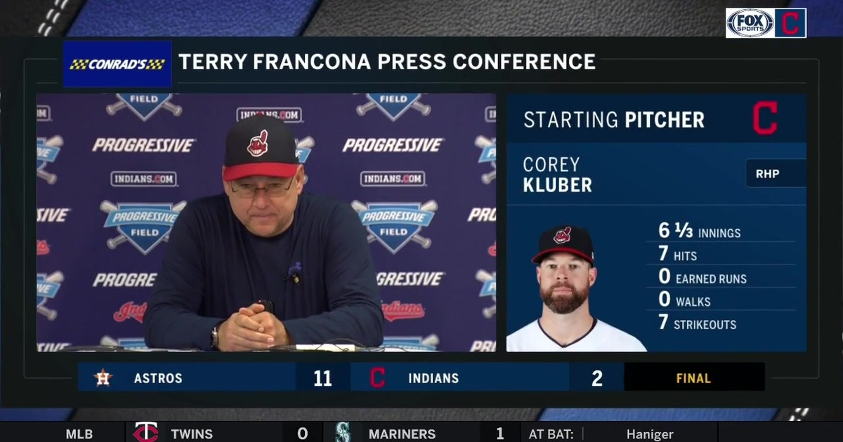 """Terry Francona on bullpen woes: """"The only thing I really know is that were gonna figure it out."""" 