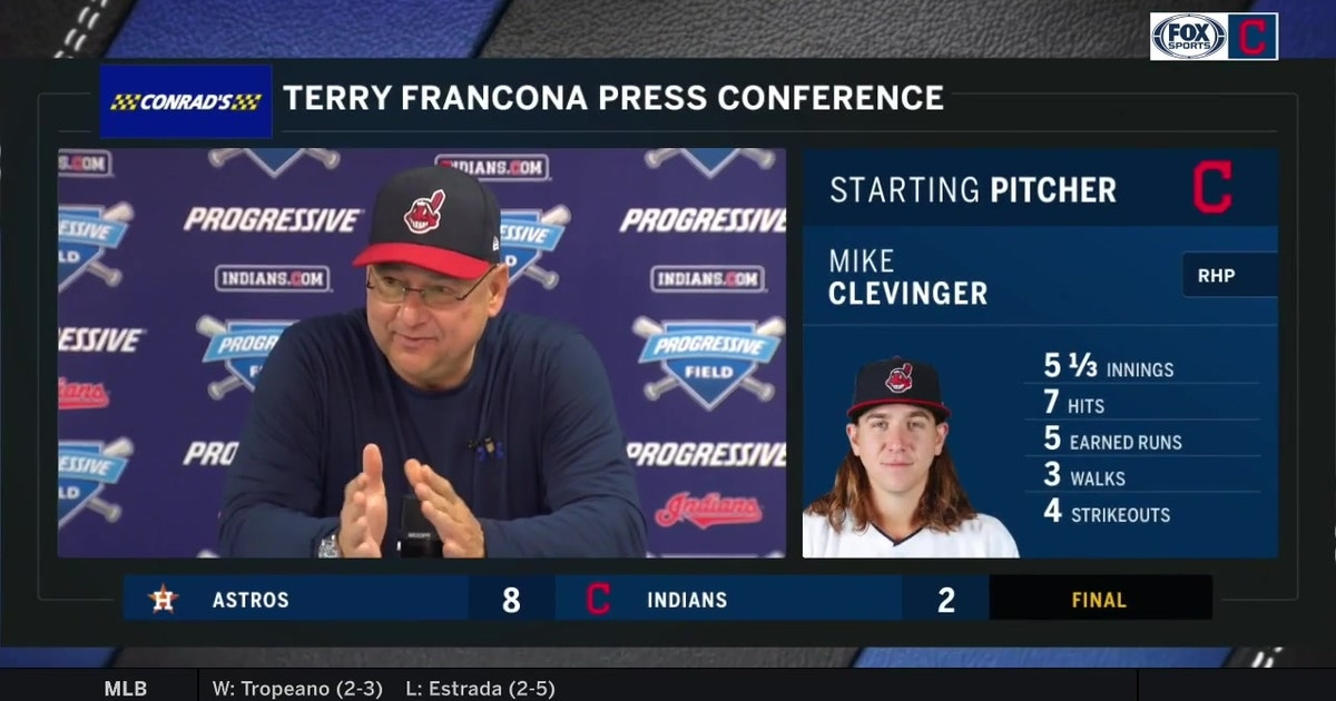 Terry Francona believes help will emerge from the Tribe bullpen | FOX Sports