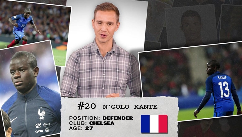 Stu Holden's 50 players to watch in Russia: #20 N'Golo Kante