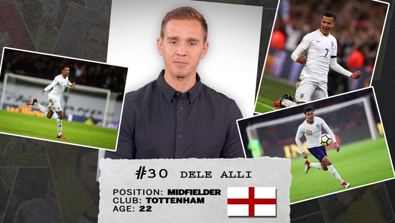 Stu Holden's 50 players to watch in Russia: #30 — Dele Alli