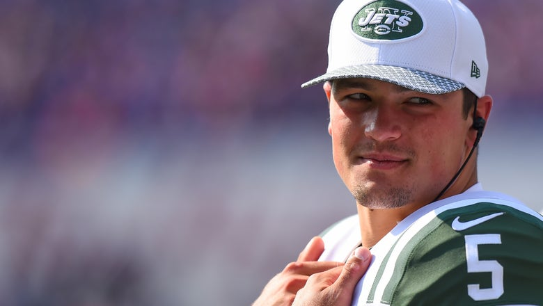 Jets trade QB Hackenberg to Raiders for 2019 pick