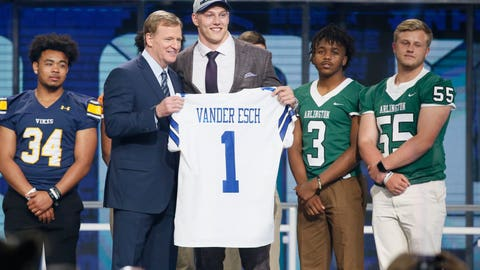 First Round (19th Overall Pick)