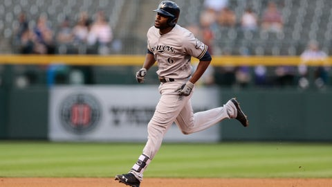 Brewers bats go quiet in a 4-0 loss to Rockies