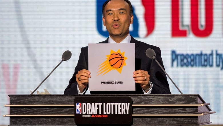 Suns GM says team is planning on keeping No. 1 pick