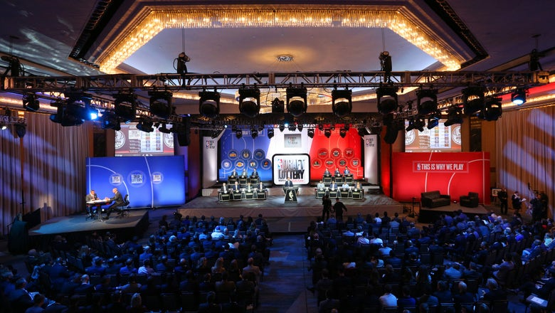 NBA teams place eyes on future this week with lottery, combine