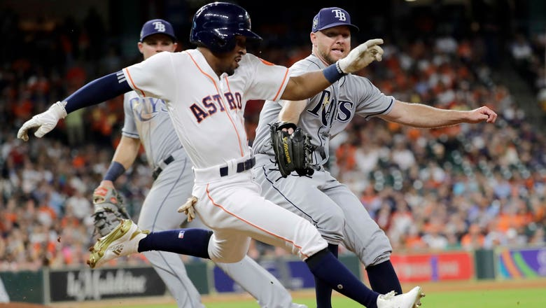 Rays drop Game 1 to Astros after Alex Bregman's walk-off double