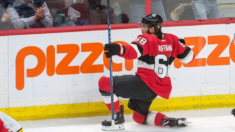 Panthers acquire winger Mike Hoffman, 2018 7th-round pick from Sharks in exchange for 3 draft picks