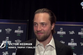 Victor Hedman relishing sharing NHL Awards experience with teammate Andrei Vasilevskiy