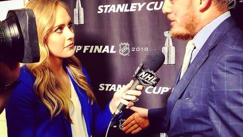 Jamie Hersch, NHL Network reporter