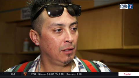 Jesse Chavez on longer relief outing, loss to Los Angeles