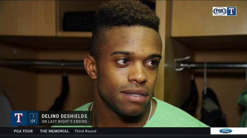 Delino DeShields: 'It's a part of the game'