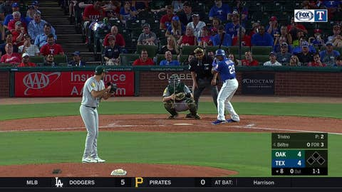 HIGHLIGHTS: Rangers take lead on Beltre's 2nd home run of the season
