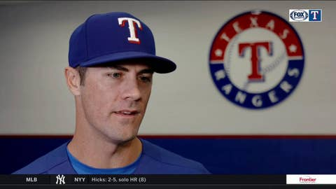 Cole Hamels on what his daughter means to him