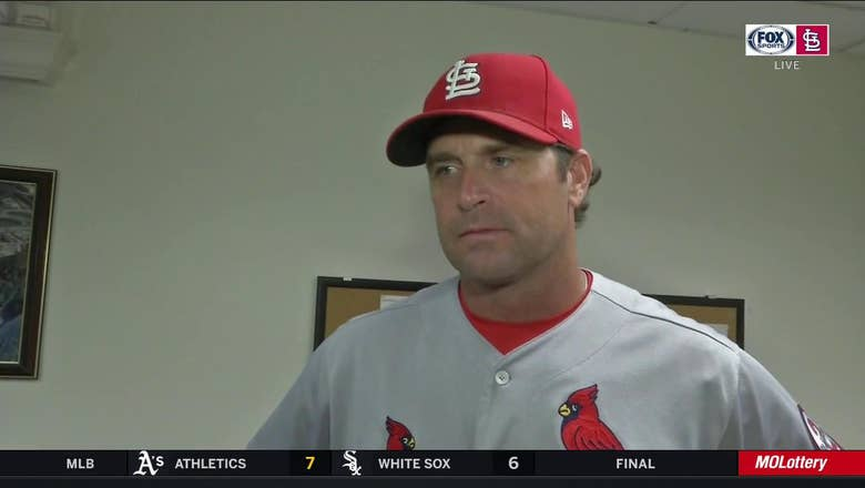Matheny on Cardinals' win: 'That's the kind you build on'