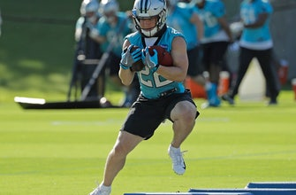 Panthers turn to 2nd year back McCaffrey to lead run game