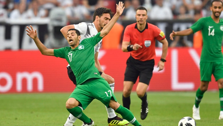 Unimpressive Germany beats S. Arabia 2-1 in World Cup warmup