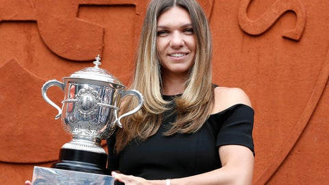 No. 1 Halep captures elusive Slam crown