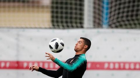 Portugal's Cristiano Ronaldo seals hat-trick vs. Spain with flawless  free-kick