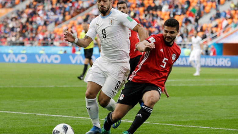 Suarez eyes return to form in 100th appearance for Uruguay