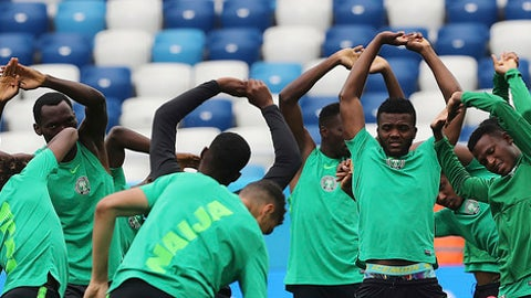 Super Eagles' travelling kit to Russian Federation causes buzz on social media
