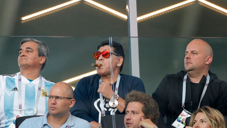 The Latest: Maradona responds to report of racist incident