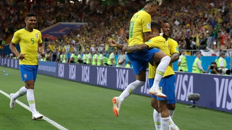 Burden falls on Coutinho to keep Brazil going at World Cup