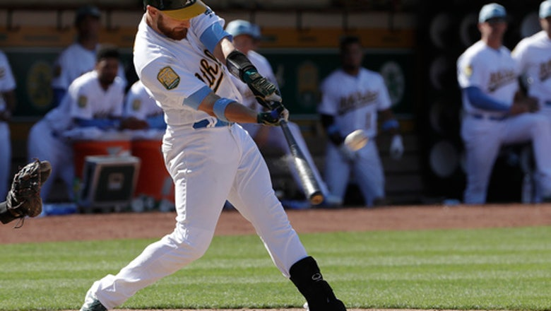 Lucroy's RBI single in 11th send Athletics past Angels 6-5