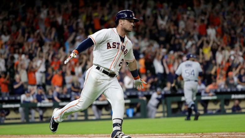 Bregman's double runs Astros' winning streak to 12