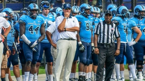 <p>(STATS) - The surprising success of Austin Peay, Columbia and Valparaiso last season should provide inspiration to every struggling program in FCS college football.</p><p>Times can be a changin' when the pieces come together.</p><p>There's bound to be more surprise teams in 2018. Whether they can come from the following programs is uncertain, but all aspire to make noticeable strides in their rebuilding:</p><p>---=</p><p>DAVIDSON=</p><p>The woes: Former Davidson quarterback Paul Nichols, who helped guide the Wildcats to their only undefeated season in 2000, didn't get the job done in five seasons as their head coach. The 'Cats went 7-49, and only one of the wins was against a Division I team. The Pioneer Football League program's last winning season was in 2007.</p><p>2018 outlook: Former Washington & Lee coach Scott Abell hopes to begin the turnaround this season. All three of Davidson's non-league games are at home against sub-FCS programs. Abell's teams prefer to run the ball, and 1,000-yard rusher Wesley Dugger is among 11 offensive starters returning.</p><p>---=</p><p>DELAWARE STATE=</p><p>The woes: The last four seasons have been inexplicable because the MEAC program has gone a combined 5-40, losing all 13 of its games out of conference. It's been quite the fall after the Hornets finished 5-3 in conference games in both 2012 and '13.</p><p>2018 outlook: New coach Rod Milstead played on the offensive line for three MEAC champions at Delaware State before graduating in 1992, and went on to play in the NFL. He inherits a team that could return nine starters on each side of the ball. But the Hornets won't play a home game until Oct. 6, and the best chances for wins aren't until November.</p><p>---=</p><p>GEORGETOWN=</p><p>The woes: The Hoyas tied for second place in 2012 under former coach Kevin Kelly, but his former assistant Rob Sgarlata hasn't gotten it going in his four seasons, posting an 11-33 record and entering the 2018 season on a 15-game Patriot Leagu
