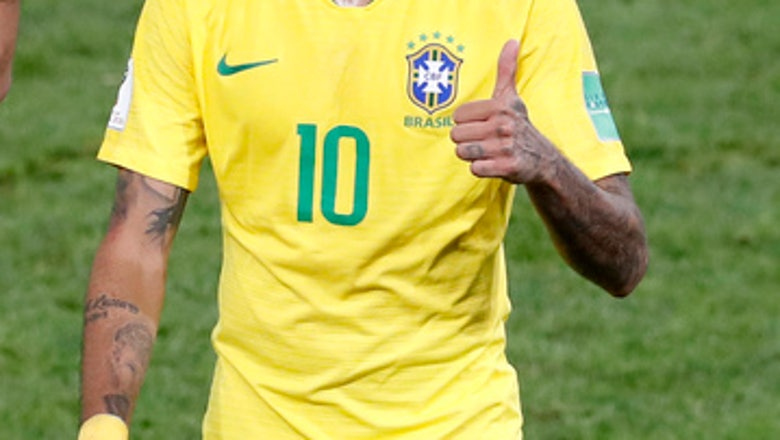 Brazilians finally see less diving from Neymar at World Cup