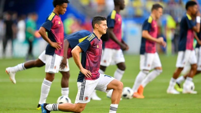 Colombia's win tempered by concern for Rodriguez