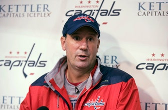 Capitals promote Reirden to replace Trotz as head coach