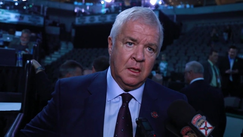 Dale Tallon breaks down Panthers' 1st-round pick of Grigori Denisenko